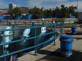 "Waste water pumping station La Caldera with 42"" piping (DN1050)"