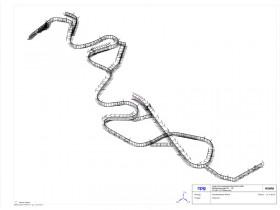 Olympic bobsled run in Sochi