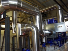 Bad Elster steam turbine piping